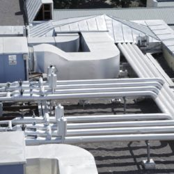 Pipeline heating cooling